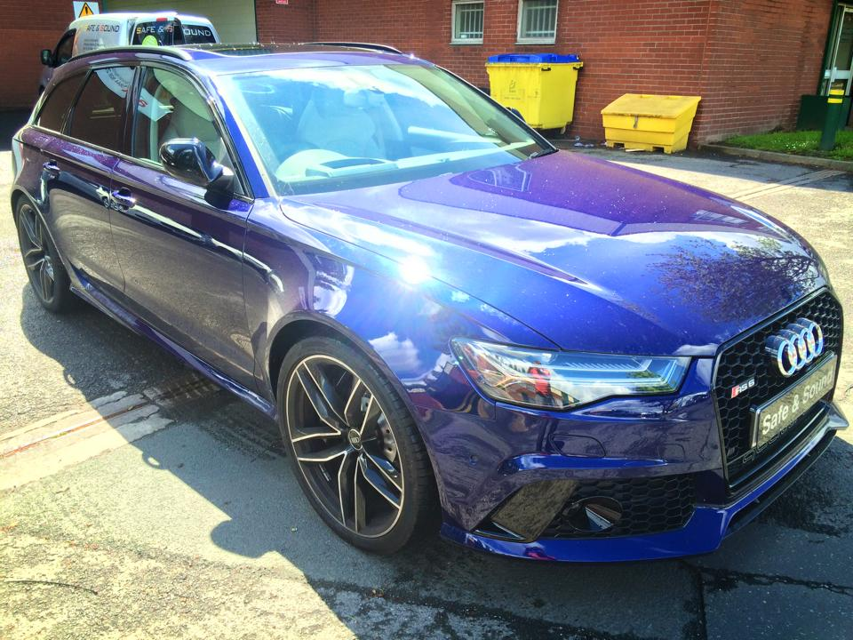 Audi RS6 Tracker Thatcham Category 5
