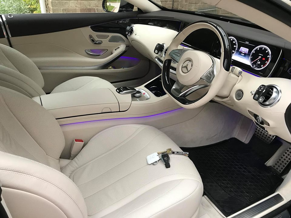 Autowatch Ghost Installed to Mercedes