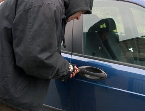 Cars Broken into by Unknown Means