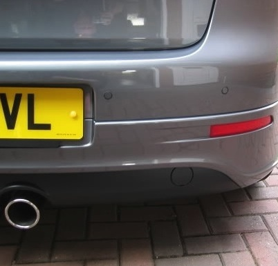 parking sensors fitted front rear