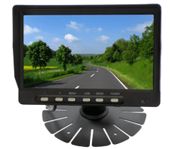 dash mounted screen cctv