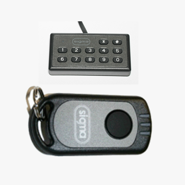sigma remote and keypad