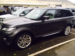 Range Rover Tracker Fitted in Wakefield